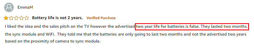 Blink Battery Review