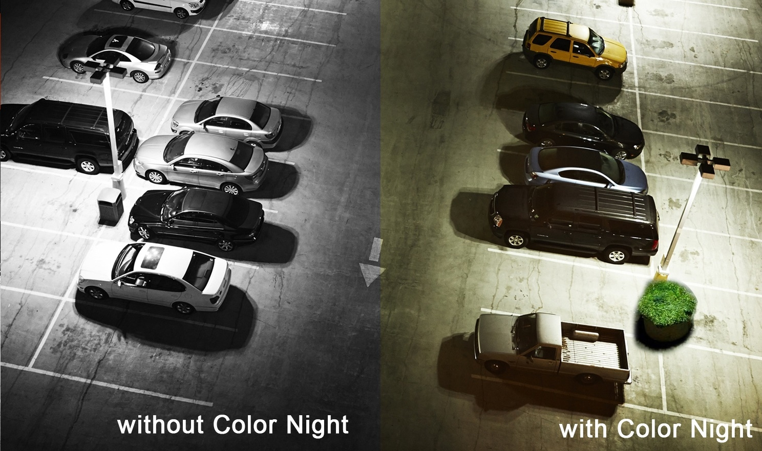 Color Night Vision Example