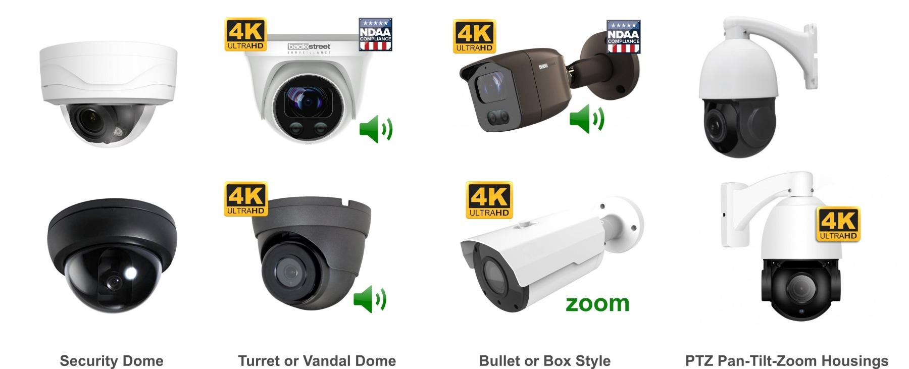 Security Camera Housings