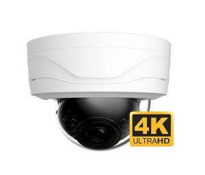 Indoor or outdoor dome surveillance camera - 4K Video