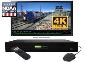 4 camera security NVR 4K recording