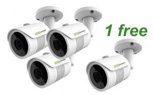 4 Pack Security Cameras - Save 25% - Outdoor Home Security Cameras