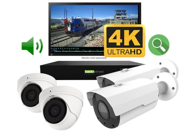 4 Camera combo CCTV surveillance system for home or business