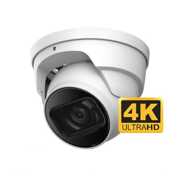 Coax Vandal Dome with 4K Video