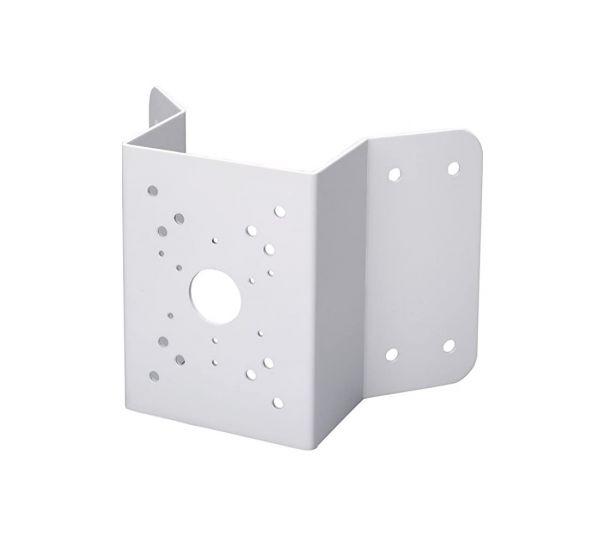 Corner mount bracket for CCTV cameras and PTZ cameras