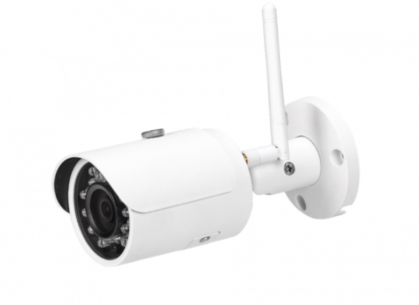 wifi outdoor bullet style security camera with night vision