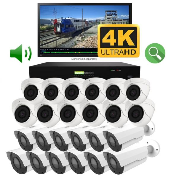 24 Camera video surveillance system