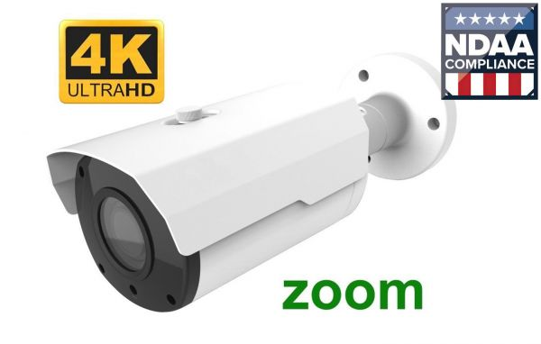 Best security camera on the market 4K live video with motorized zoom