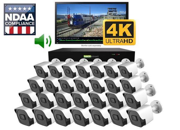 32 camera CCTV video security & surveillance system