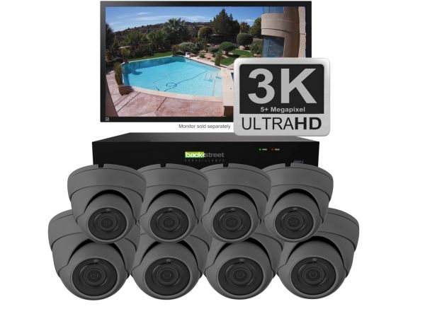 3K Video Security System - Great for home & business surveillance & security