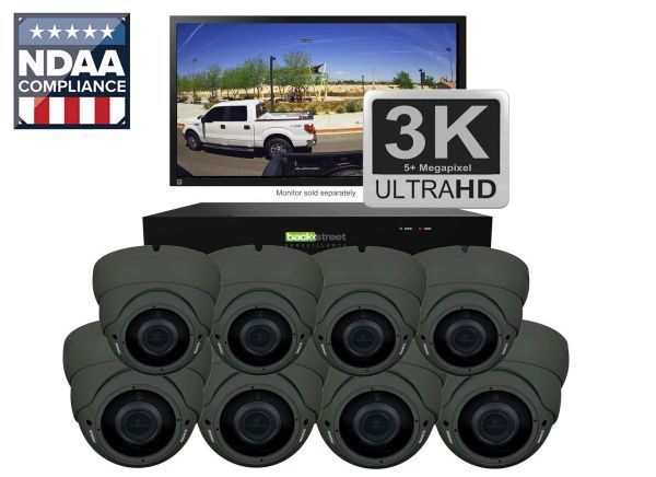 CCTV IP Video Security System Outdoor Vandal Domes