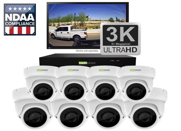 Eight Camera Surveillance System