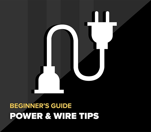 CCTV Power & Wire Tips