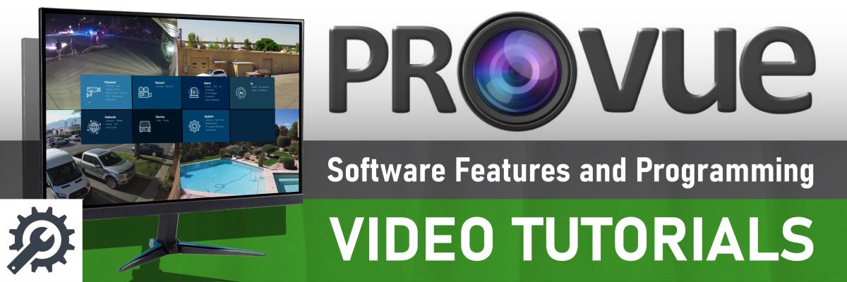 ProVue Surveillance Software